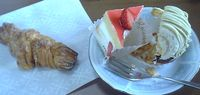 20070519のぶ先生がかってくれてたケーキ
