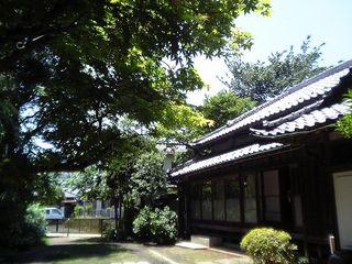 のぶ先生の生家(古民家)20070526