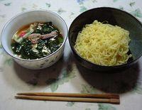つけ麺完成~!