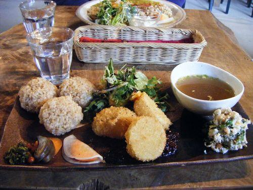 20090301本日の定食 「季節野菜のまるごとプレート」