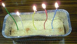 20071031おからチーズケーキ from Y嬢