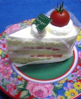 トマトショートケーキ