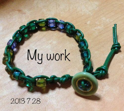 20130728 greenbraceletforme